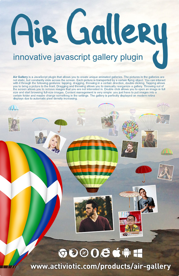 Air Gallery - JavaScript Gallery Plugin - 8