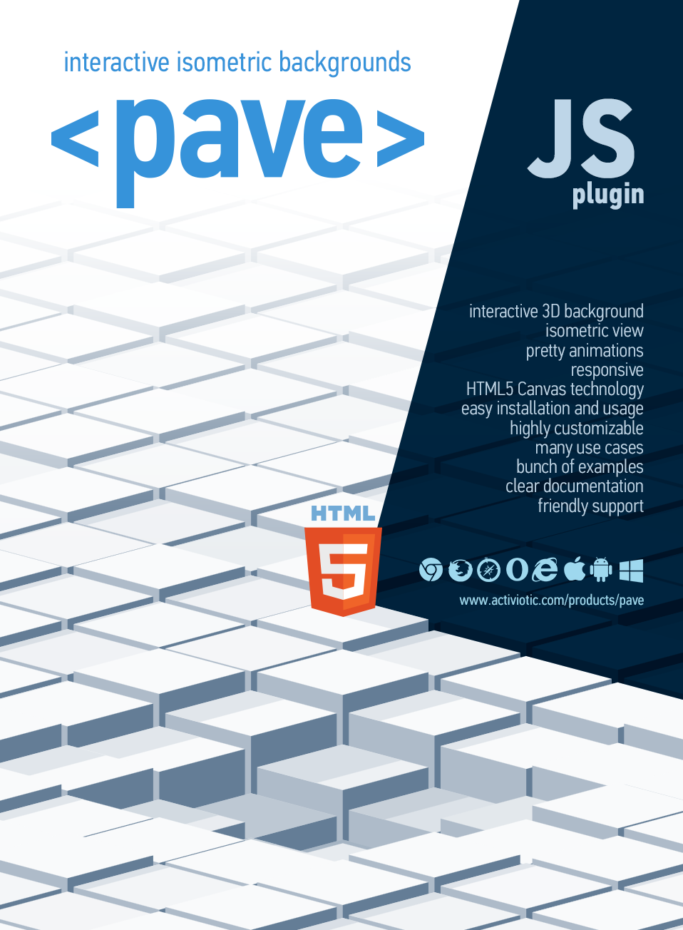 Pave - Interactive Isometric Backgrounds - 4